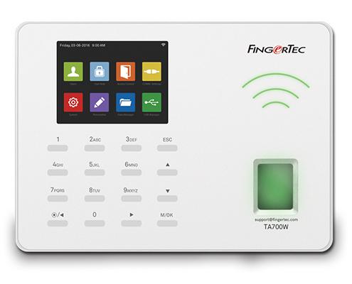 WiFi biometrički terminal za evidenciju radnog vremena